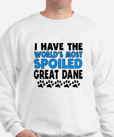 Worlds Most Spoiled Great Dane Sweater