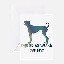 Proud Azawakh Parent Greeting Card