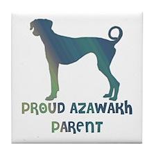 Proud Azawakh Parent Tile Coaster