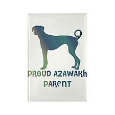 Proud Azawakh Parent Rectangle Magnet