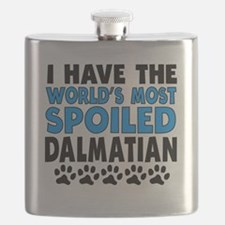 Worlds Most Spoiled Dalmatian Flask