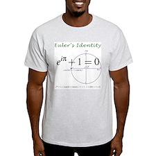Euler's identity Light Color T-Shirt