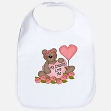 My Cousins Love Me CUTE Bear Bib