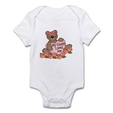 My Cousin Loves Me CUTE Bear Infant Bodysuit
