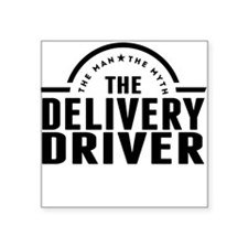 The Man The Myth The Delivery Driver Sticker
