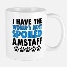 Worlds Most Spoiled AmStaff Mugs