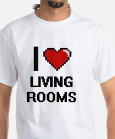 I love Living Rooms digital design T-Shirt