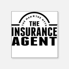 The Man The Myth The Insurance Agent Sticker
