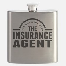 The Man The Myth The Insurance Agent Flask