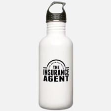 The Man The Myth The Insurance Agent Water Bottle