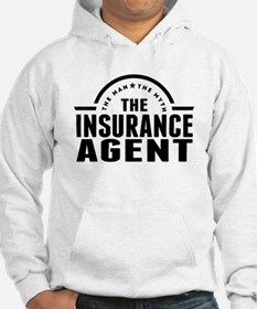 The Man The Myth The Insurance Agent Hoodie