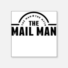 The Man The Myth The Mail Man Sticker