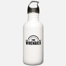 The Man The Myth The Winemaker Water Bottle