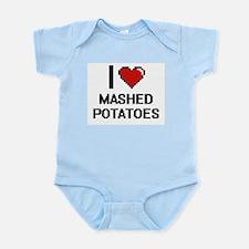 I love Mashed Potatoes digital design Body Suit