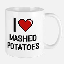 I love Mashed Potatoes digital design Mugs