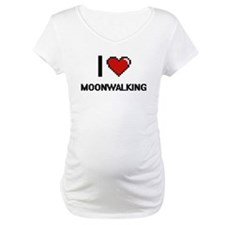 I love Moonwalking digital desig Shirt