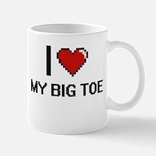 I love My Big Toe digital design Mugs