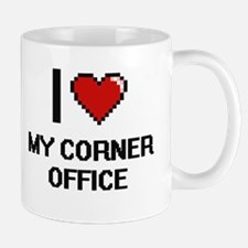 I love My Corner Office digital design Mugs