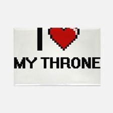 I love My Throne digital design Magnets