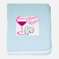 BUNCO NIGHT baby blanket