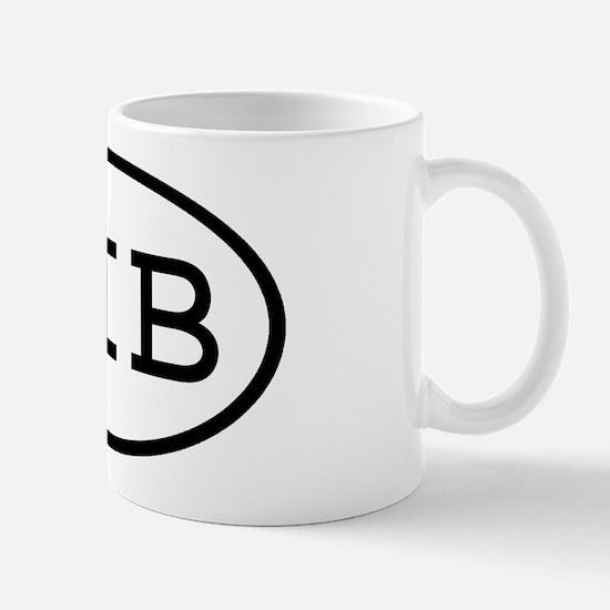 HIB Oval Mug