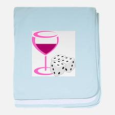 BUNCO LADIES NIGHT baby blanket