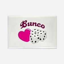 I LOVE BUNCO Magnets