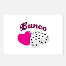 I LOVE BUNCO Postcards (Package of 8)
