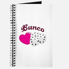 I LOVE BUNCO Journal