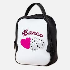 I LOVE BUNCO Neoprene Lunch Bag