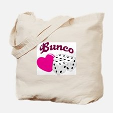I LOVE BUNCO Tote Bag