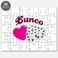 I LOVE BUNCO Puzzle