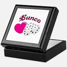 I LOVE BUNCO Keepsake Box