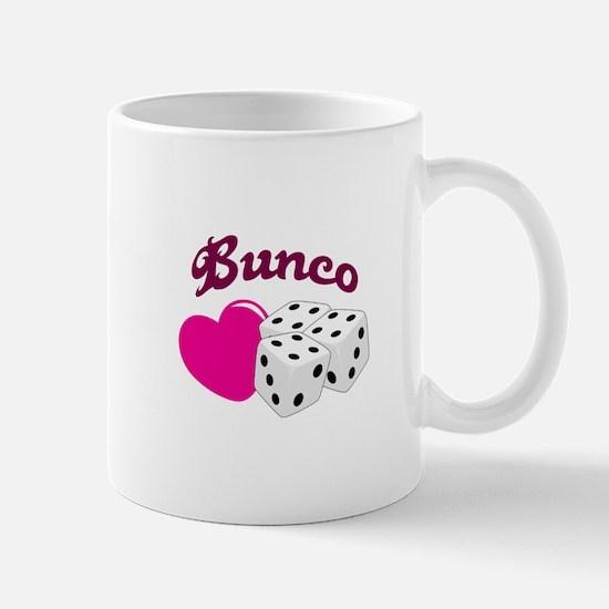 I LOVE BUNCO Mugs