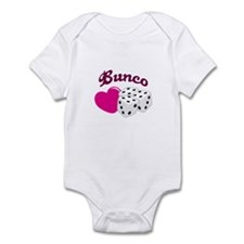 I LOVE BUNCO Body Suit