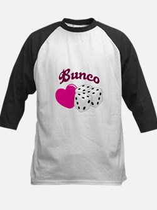 I LOVE BUNCO Baseball Jersey