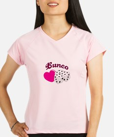 I LOVE BUNCO Performance Dry T-Shirt