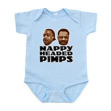 Nappy Headed Pimps Infant Bodysuit