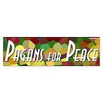 Pagans for Peace bumper sticker