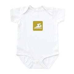 SWIMMING Infant Bodysuit