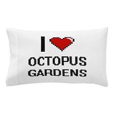 I love Octopus Gardens digital design Pillow Case