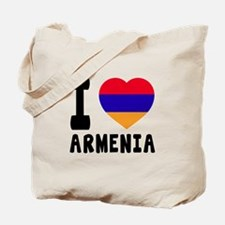 I Love Armenia Tote Bag