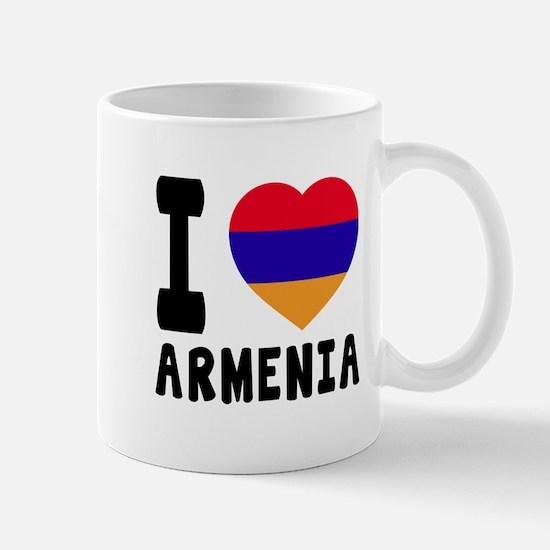 I Love Armenia Mug