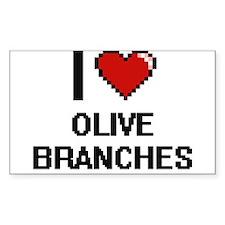 I love Olive Branches digital design Decal