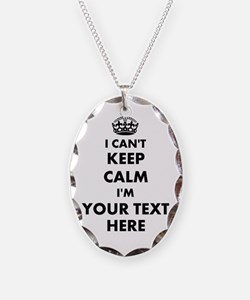 I cant keep calm Necklace