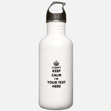 Make Your Own Funny I Water Bottle