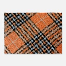 Checkered 010Q 5'x7'Area Rug