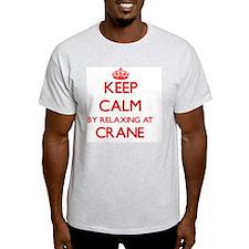 Keep calm by relaxing at Crane Massachuset T-Shirt
