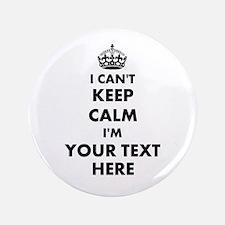 I cant keep calm Button