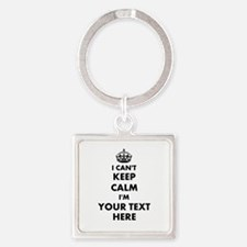 I cant keep calm Keychains